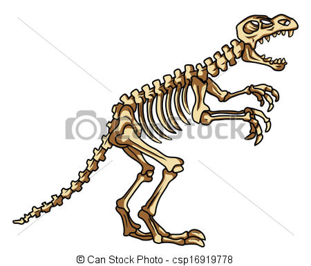 graphic library stock Dinosaur clip art panda. Fossil clipart dino fossil