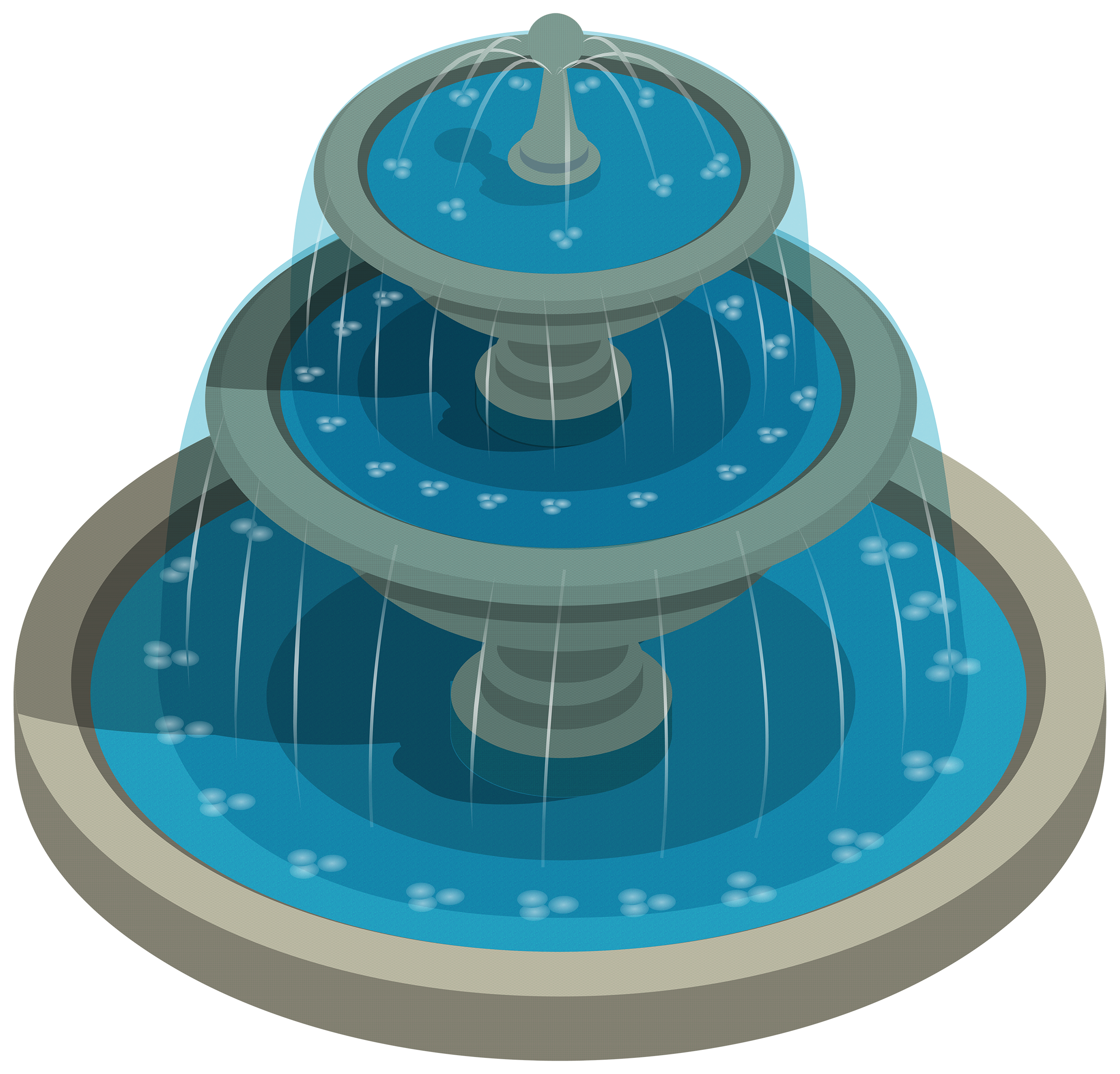 clip library library Round water png best. Fountain clipart