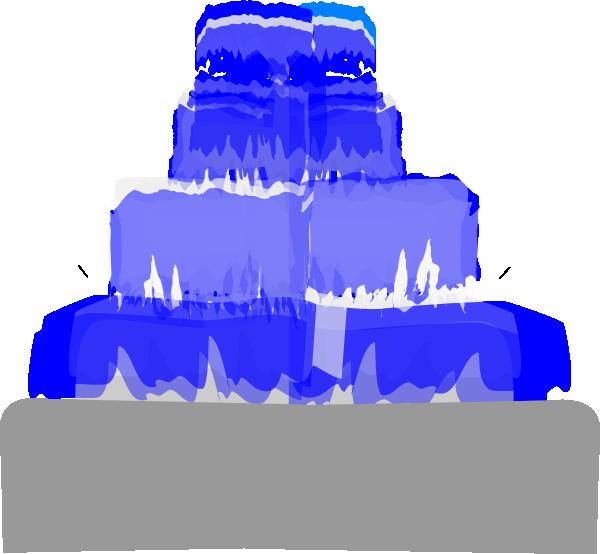 clip art stock Fountain clipart. Water blue clip art