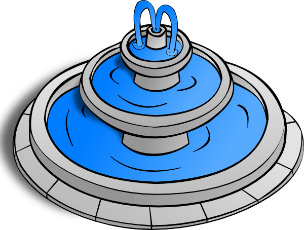 png freeuse Clipart fountain. Water