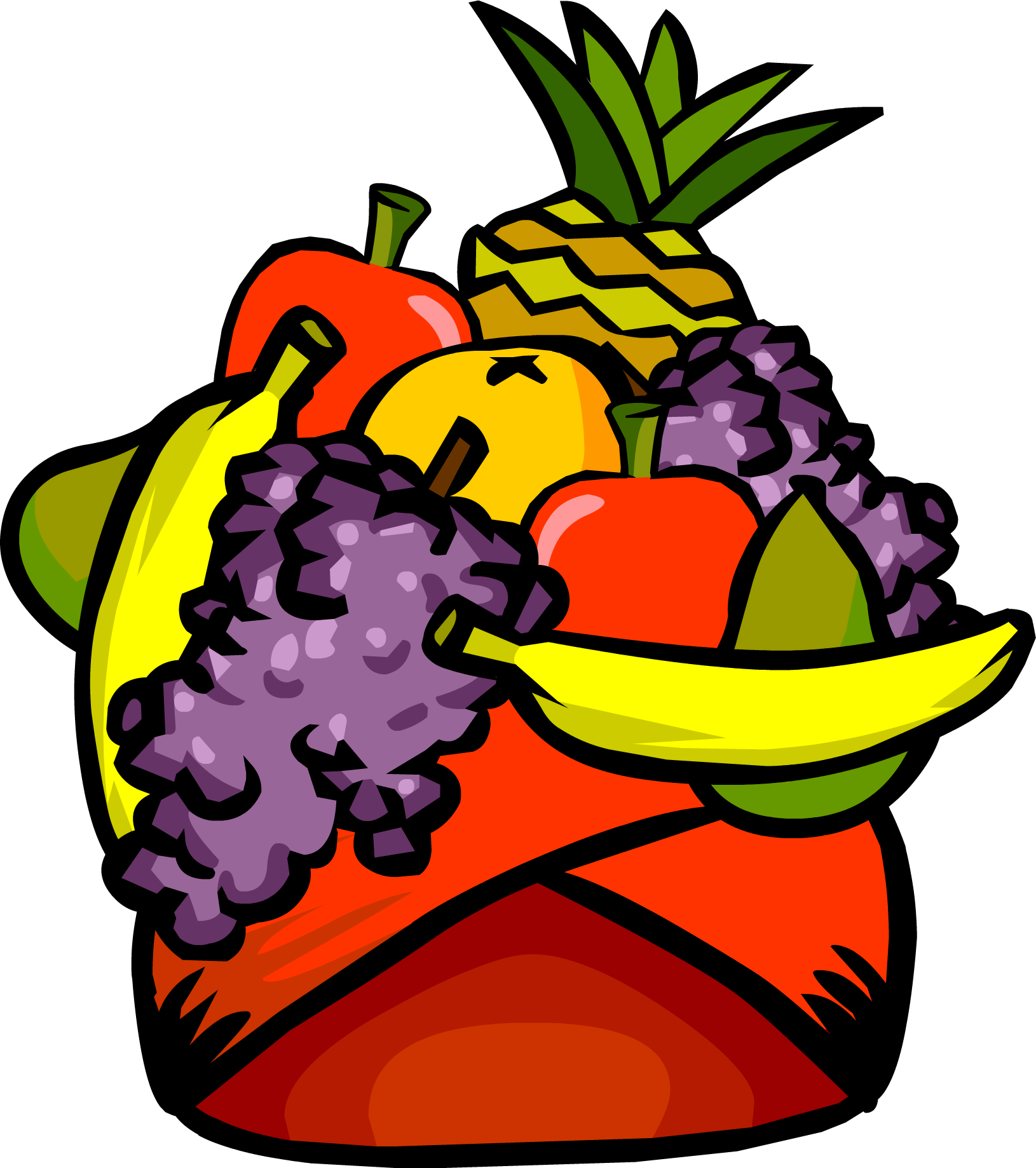 royalty free Fruit Headdress