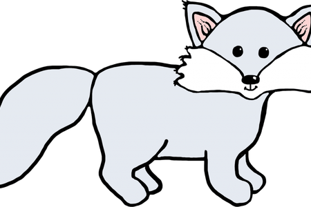 vector free Fox clipart black and white. Download wallpaper terry full