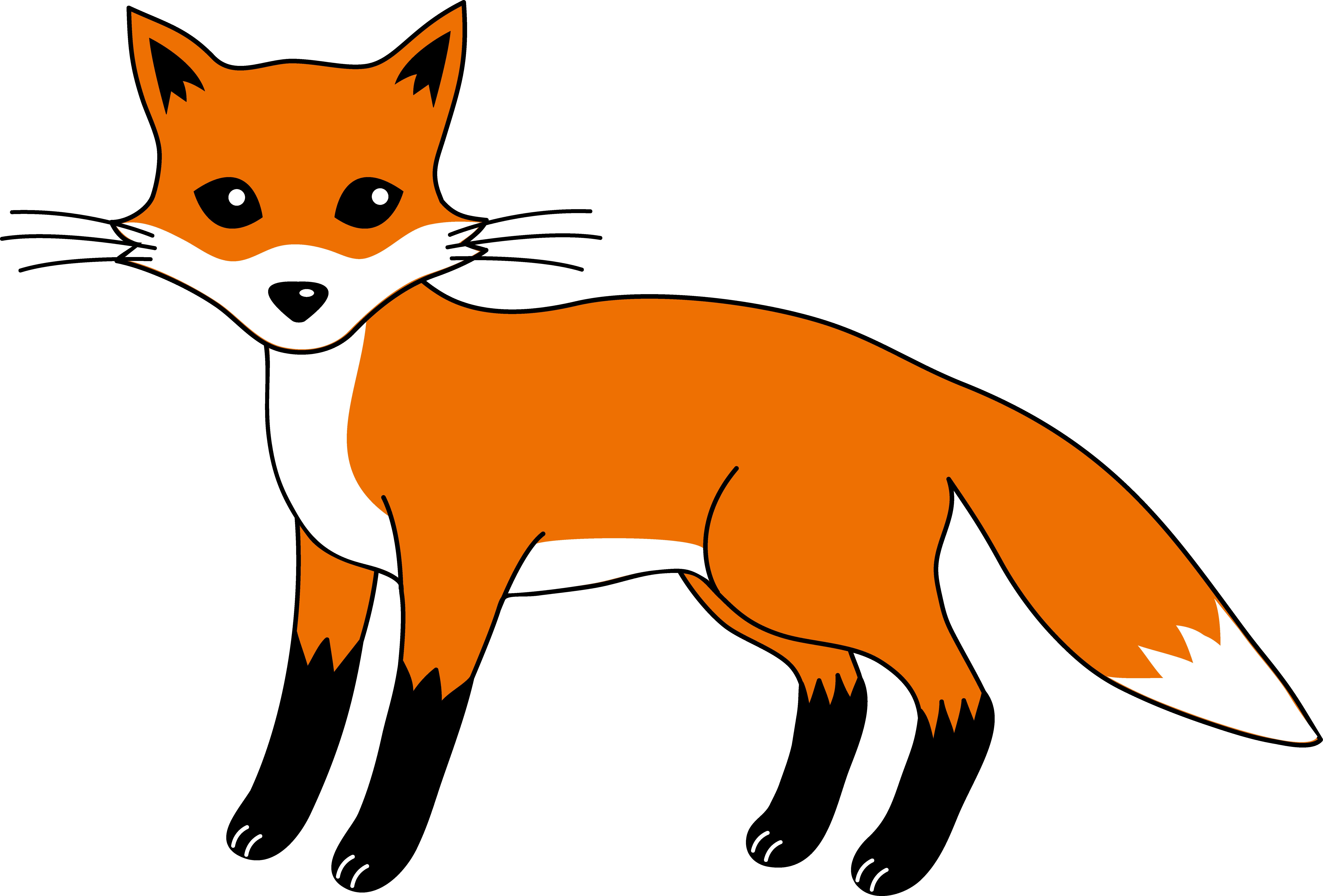 jpg royalty free stock drawing foxes cartoon #111841093