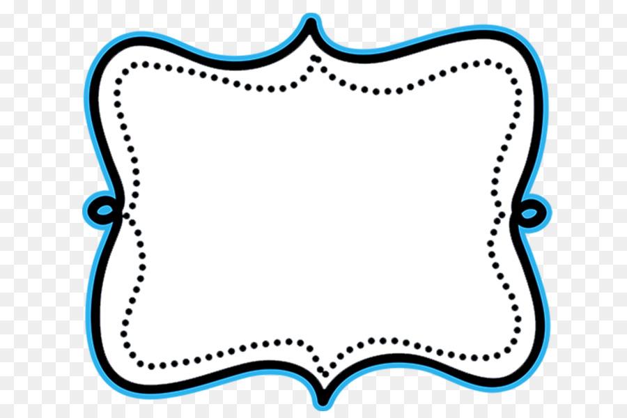 image transparent White background blue text. Frame clipart