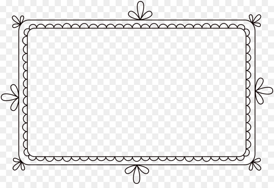 image library download Black and white rectangle. Frame clipart