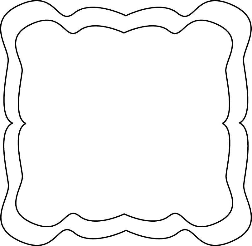 jpg free stock Frames clipart. Frame clip art black.