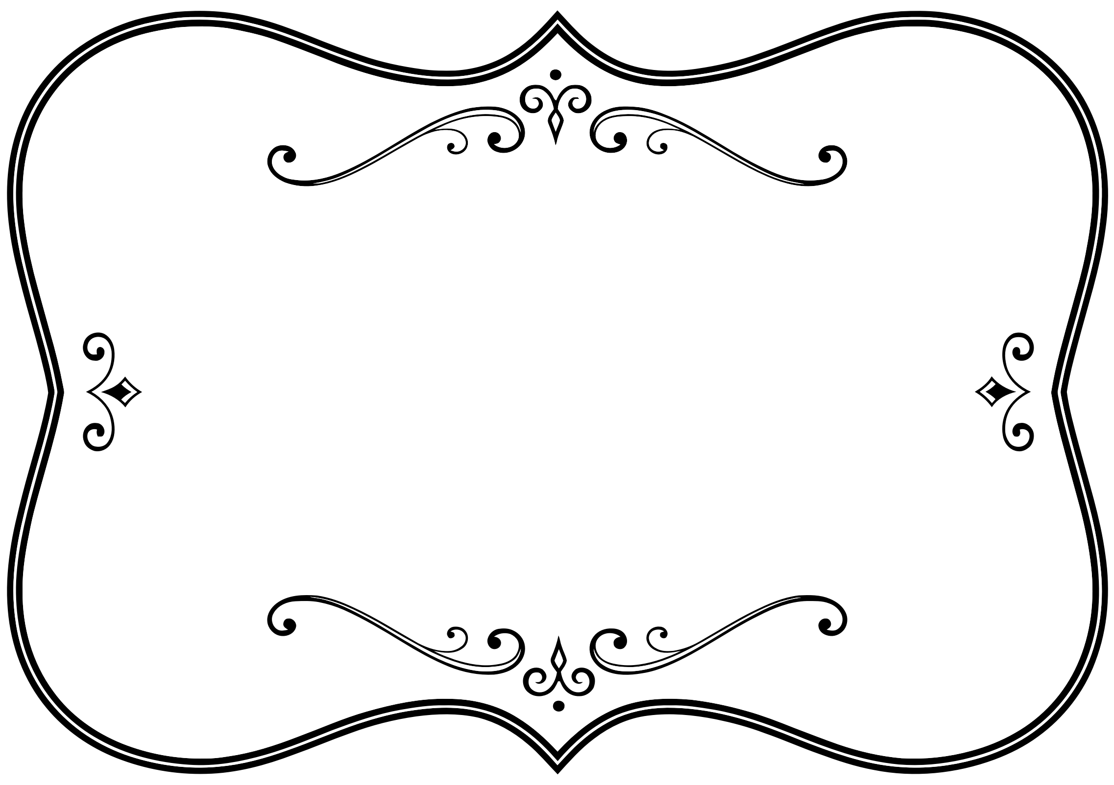 banner royalty free svg frame black and white #104251331