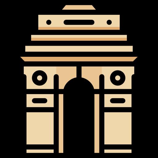 royalty free download France clipart india gate. Landmark monuments mumbai architectonic