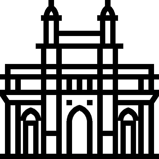 jpg black and white stock France clipart india gate. Of mumbai landmark monuments