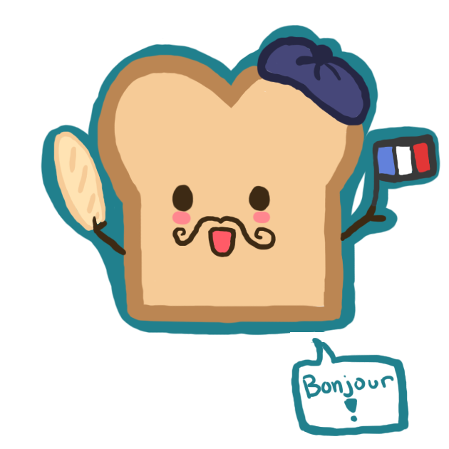 graphic royalty free download French Toast Comes to France