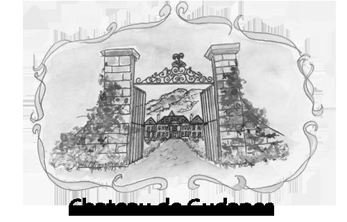 png black and white download Chateau de Gudanes