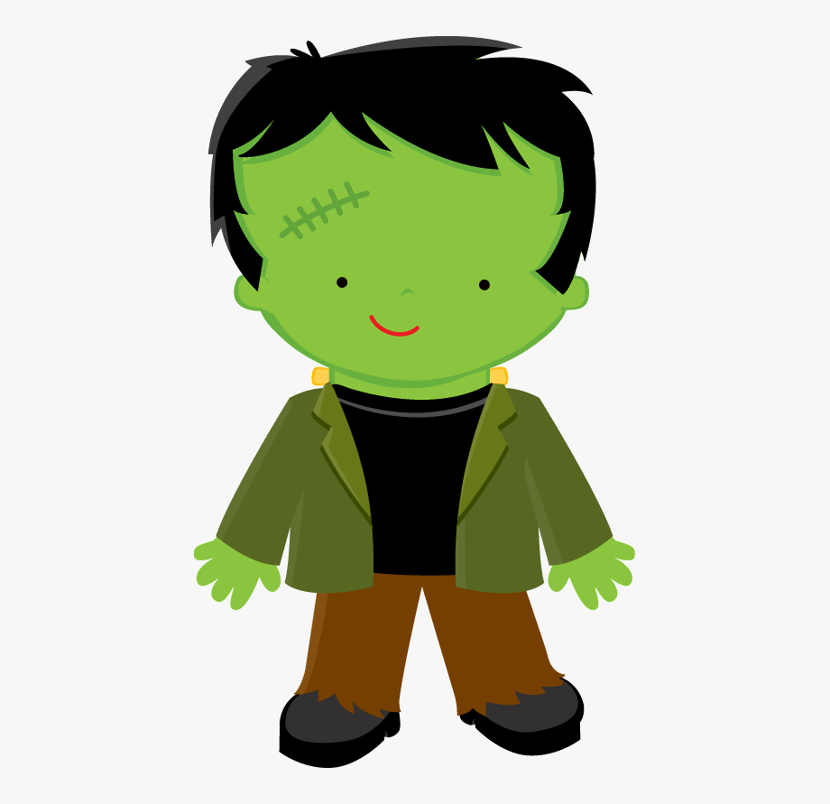 vector royalty free stock Frankenstein clipart. Halloween clip art .