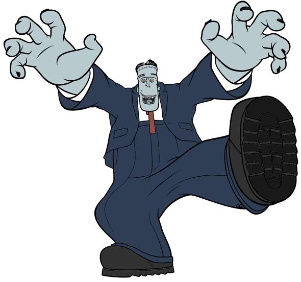 png download Hotel transylvania clip art. Frankenstein clipart.