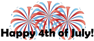 jpg freeuse library Fourth july images th. Free 4th of clipart
