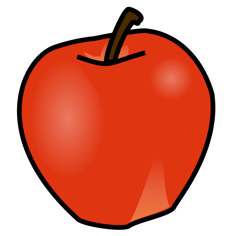 graphic free Free clipart apples. Apple at getdrawings com.