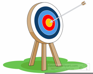 banner black and white library Free archery clipart. Images at clker com