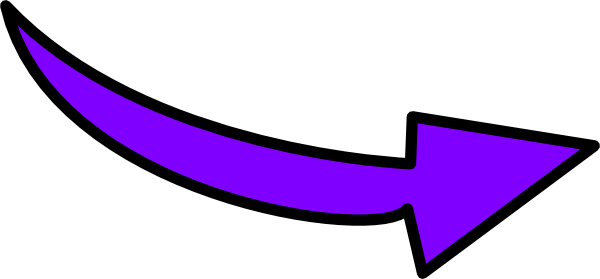 clip transparent library Purple Curvy Arrow Clip Art at Clker
