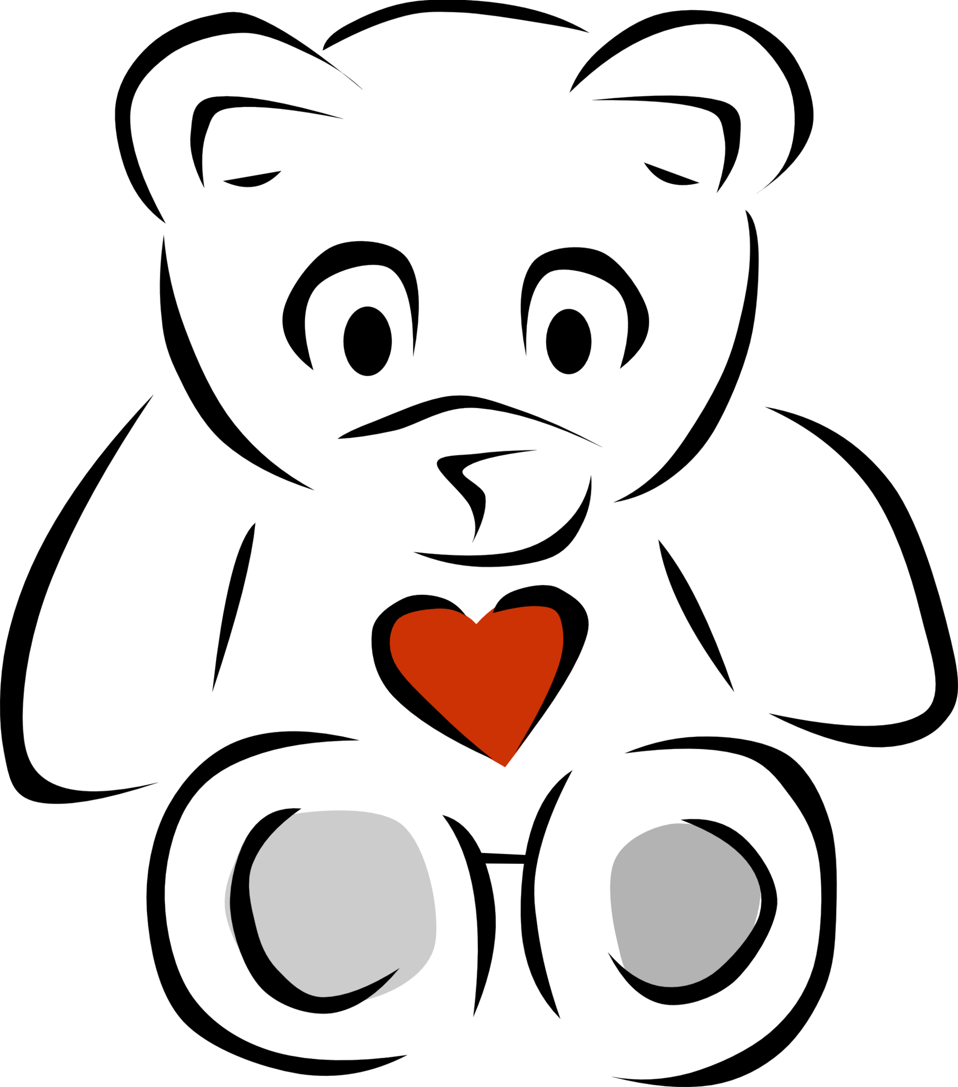 jpg library stock Free bear clipart. Png teddy black and