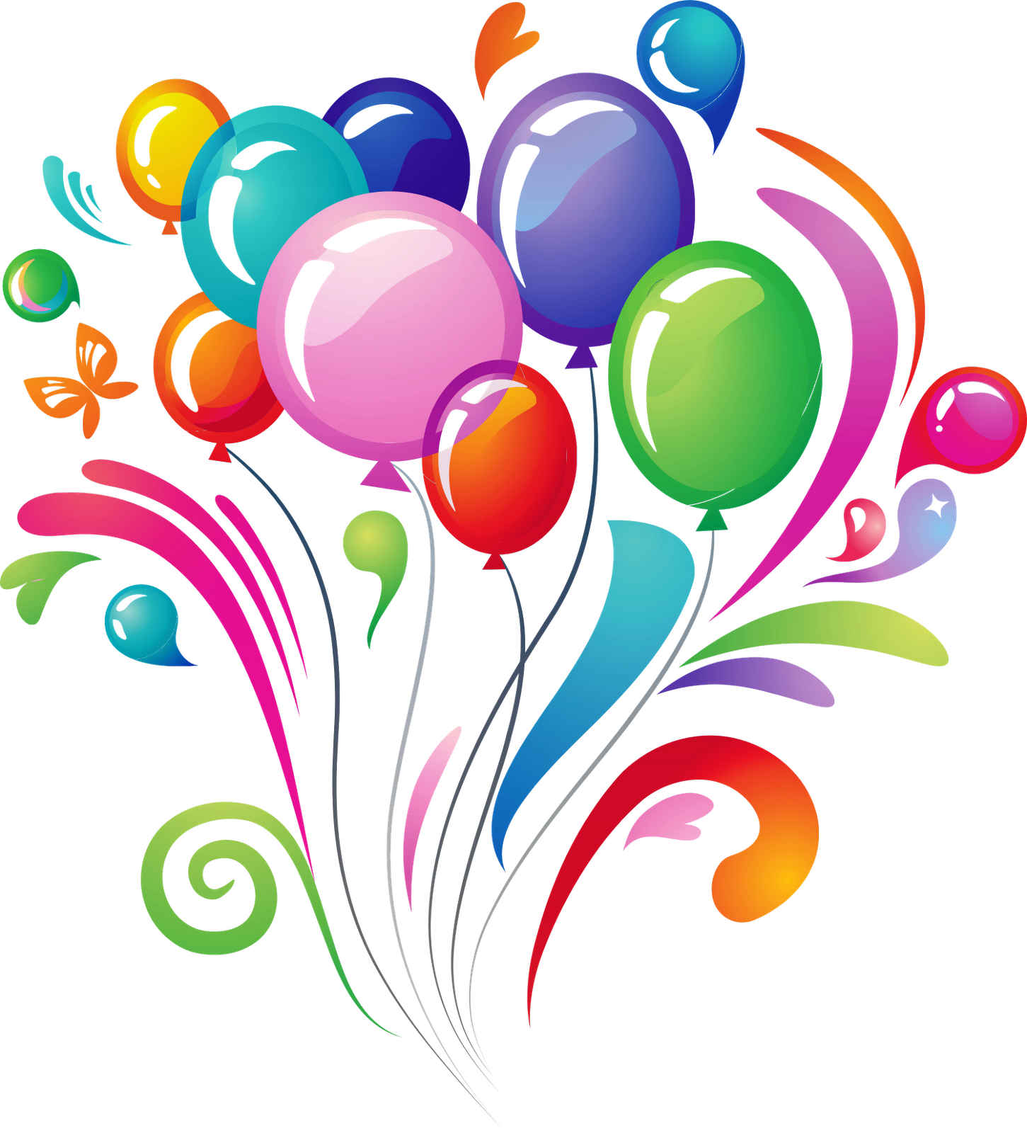 png Free happy birthday clipart graphics. Png the fizz head