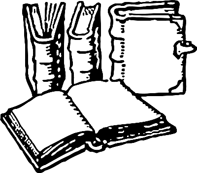 clip art free library Free book download clip. Clipart black and white library.