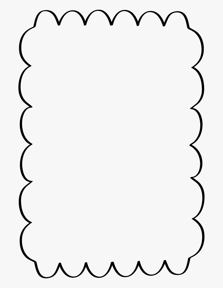 clip art transparent stock Free borders clipart. Page scalloped border transparent