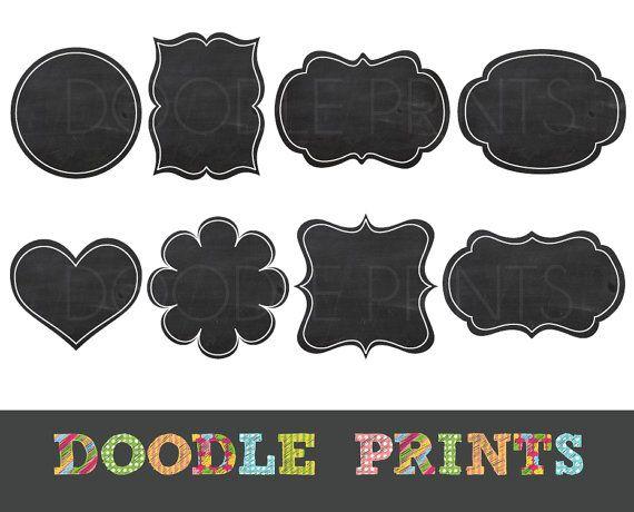jpg black and white Free chalkboard frame clipart. Frames portal .