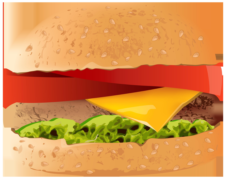 vector transparent download Hamburger PNG Clip Art Image
