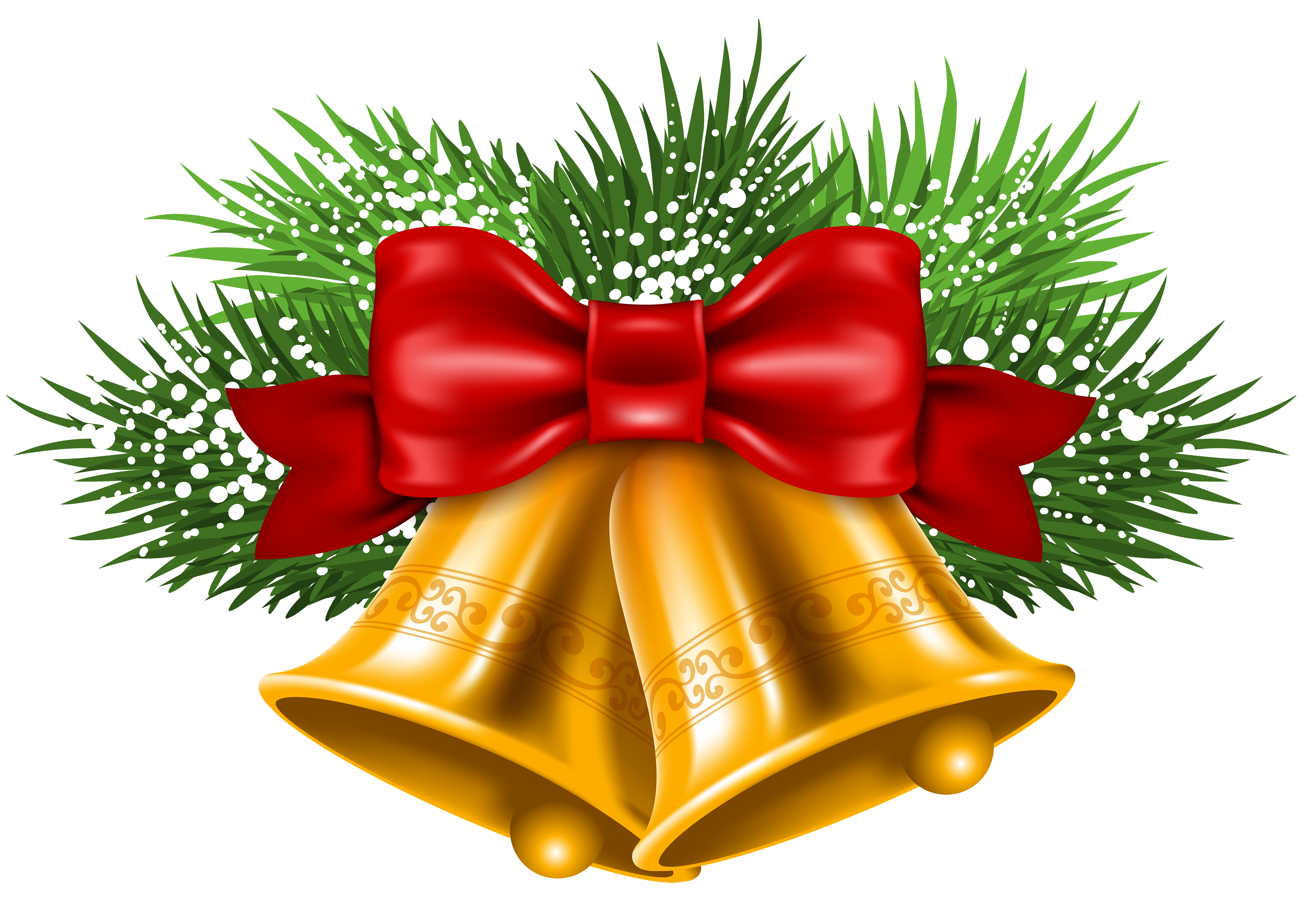 clip art transparent download Transparent png picture gallery. Christmas bells clipart