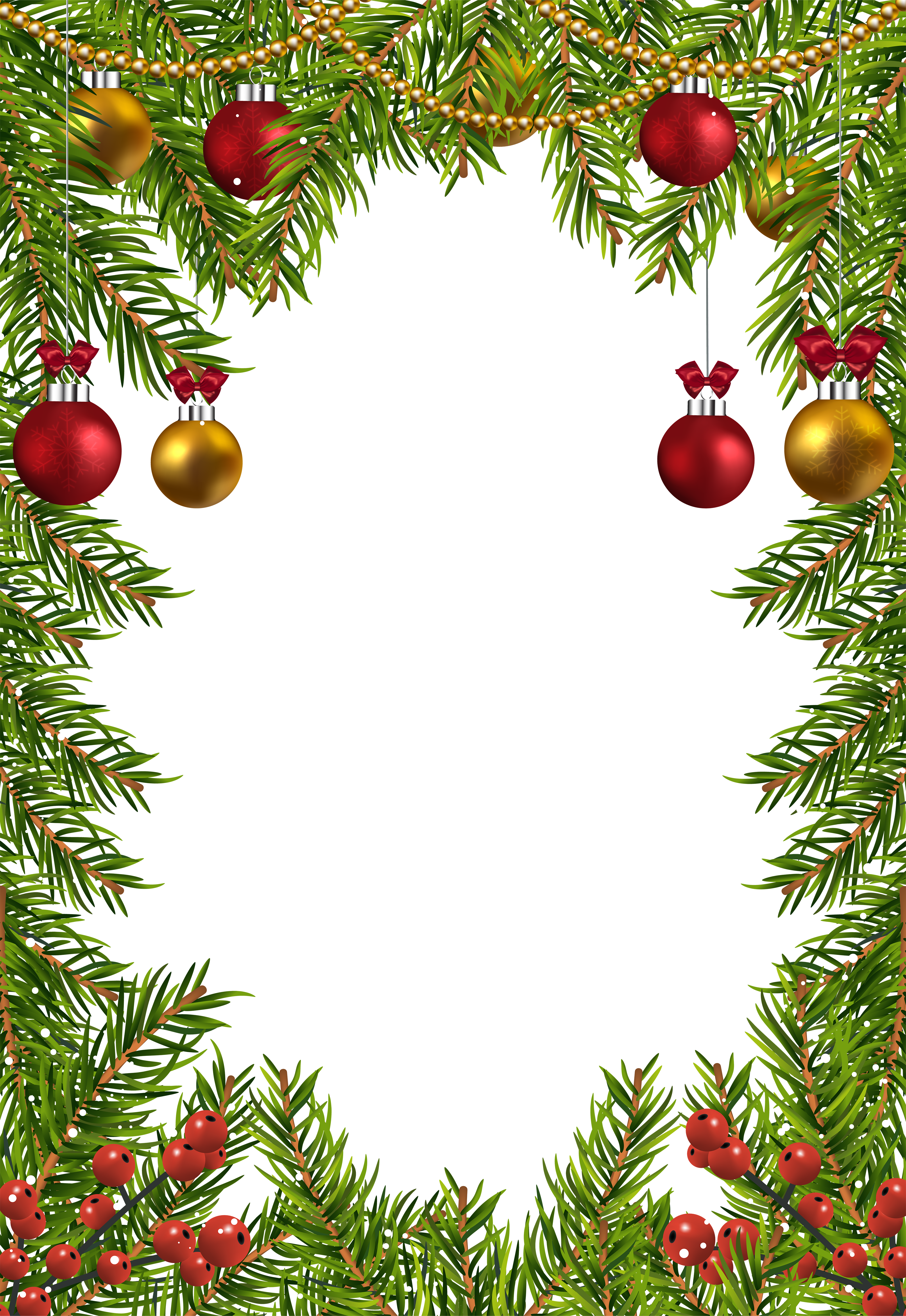 clip art freeuse Free christmas borders clipart. Transparent border frame gallery