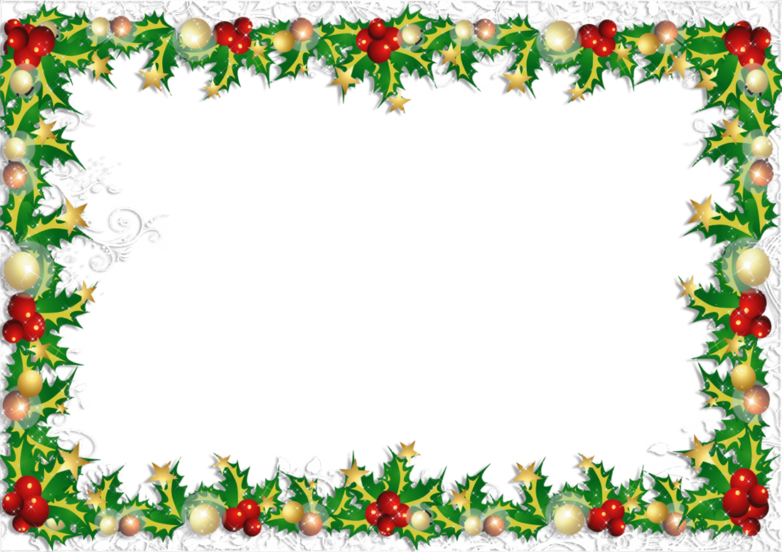 banner transparent download Transparent png photo frame. Free christmas borders clipart