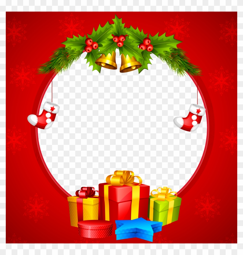 banner free Transparent . Free christmas clipart borders