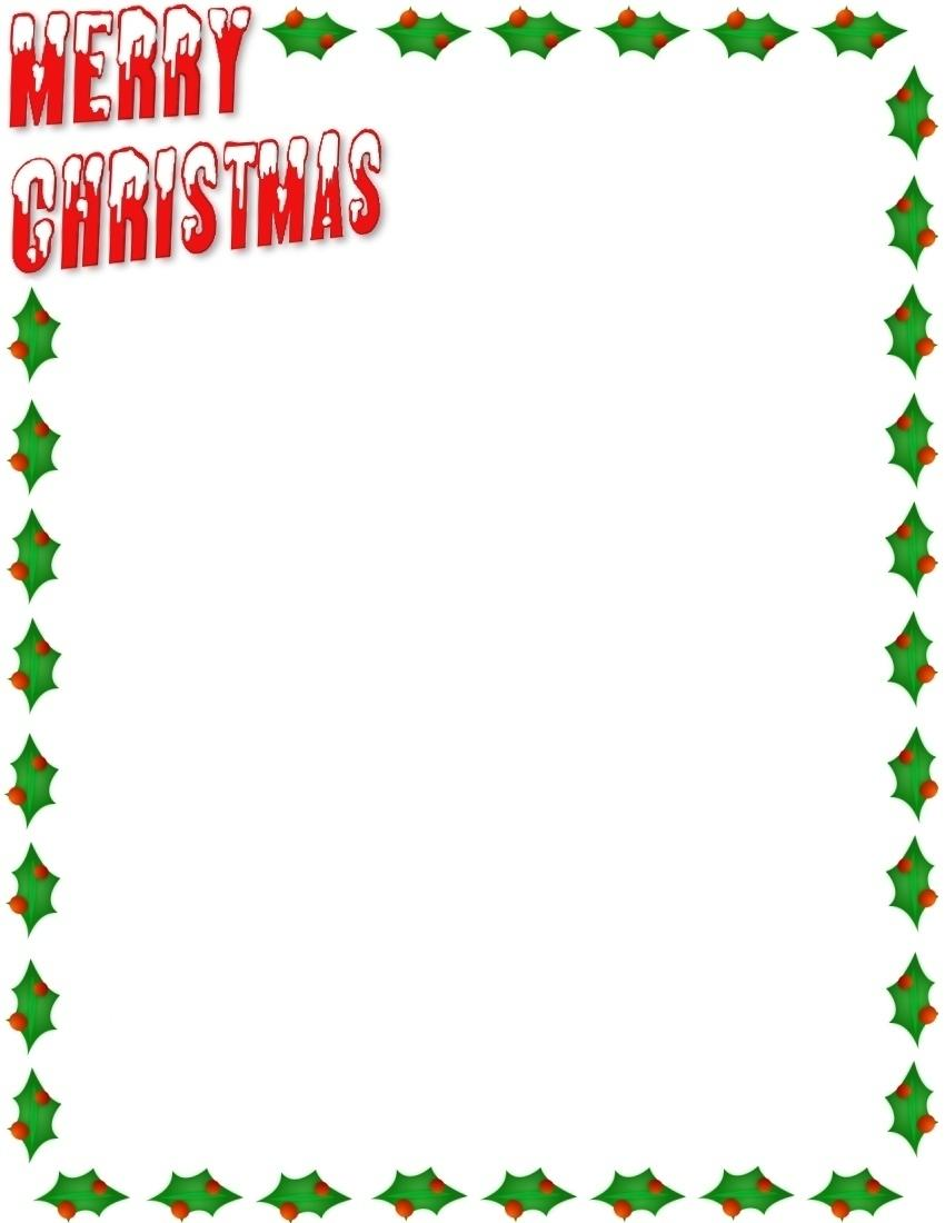 png freeuse stock Free christmas clipart borders for word. Border photos of templates