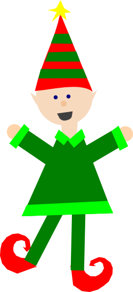 clipart royalty free download Christmas Elf Clip Art at Clker