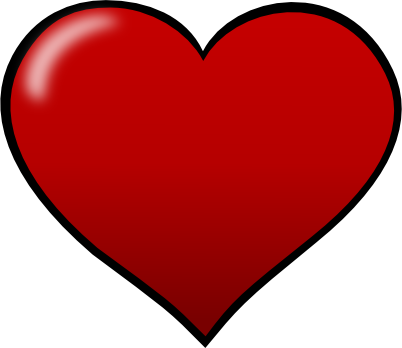 jpg royalty free download Clipart Heart Shape