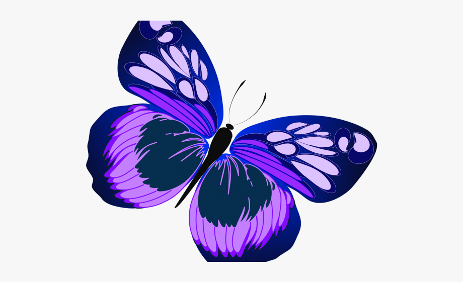 clipart freeuse library Butterfly purple clip art. Free clipart butterflies.