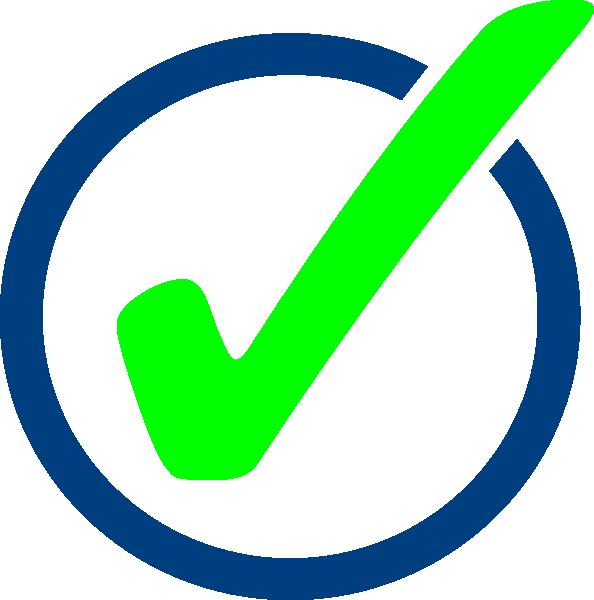 clip art transparent Yes clipart ballot. Check mark clip art