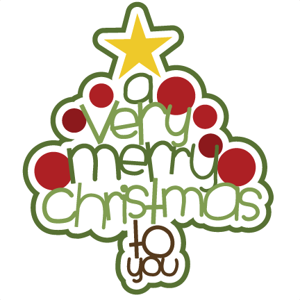 svg black and white stock Free christmas day . Merry clipart.