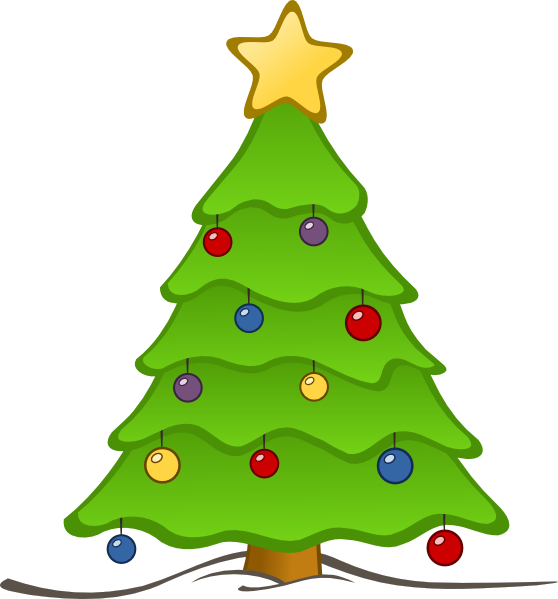picture stock Tree clip art cliparting. Free clipart christmas borders