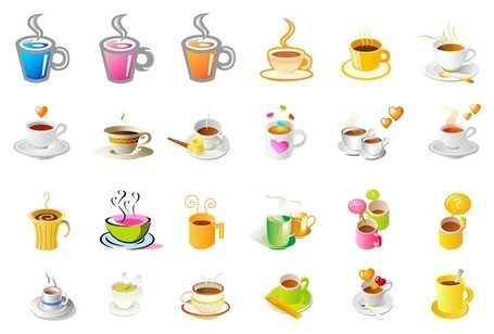 graphic free download Free clipart coffee cup steaming. Sets and vector graphics
