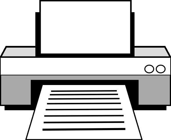 banner library stock Printer clipart panda free. Vector computer vintage