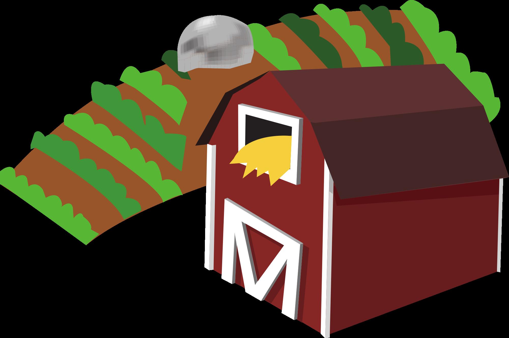 clip art freeuse library Farm Clip Art Free