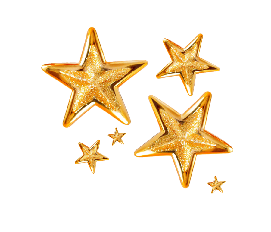 png free download gold stars png by Melissa