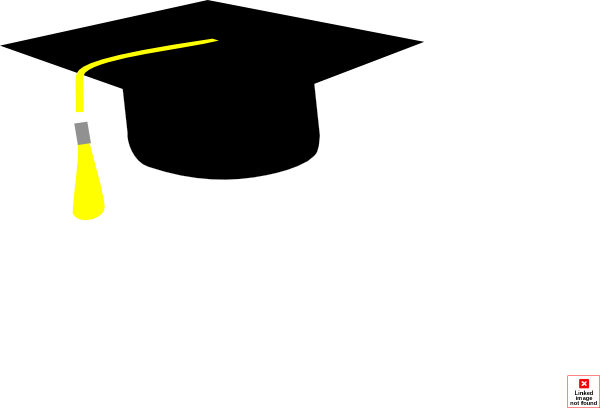 image black and white Graduation Hat Cap Clip Art Clip Art at Clker