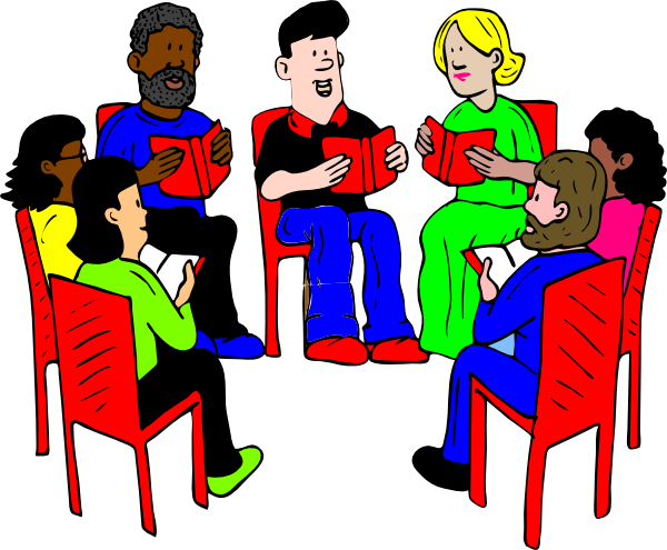 svg free library Group Of People Talking Clipart