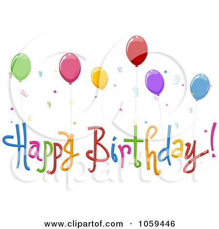 picture royalty free Free clipart happy birthday. Clip art bay