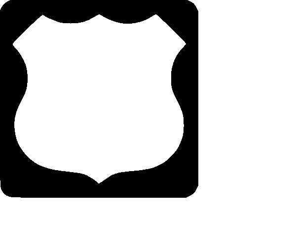 clip art transparent download Blank Highway Shield Clip Art at Clker