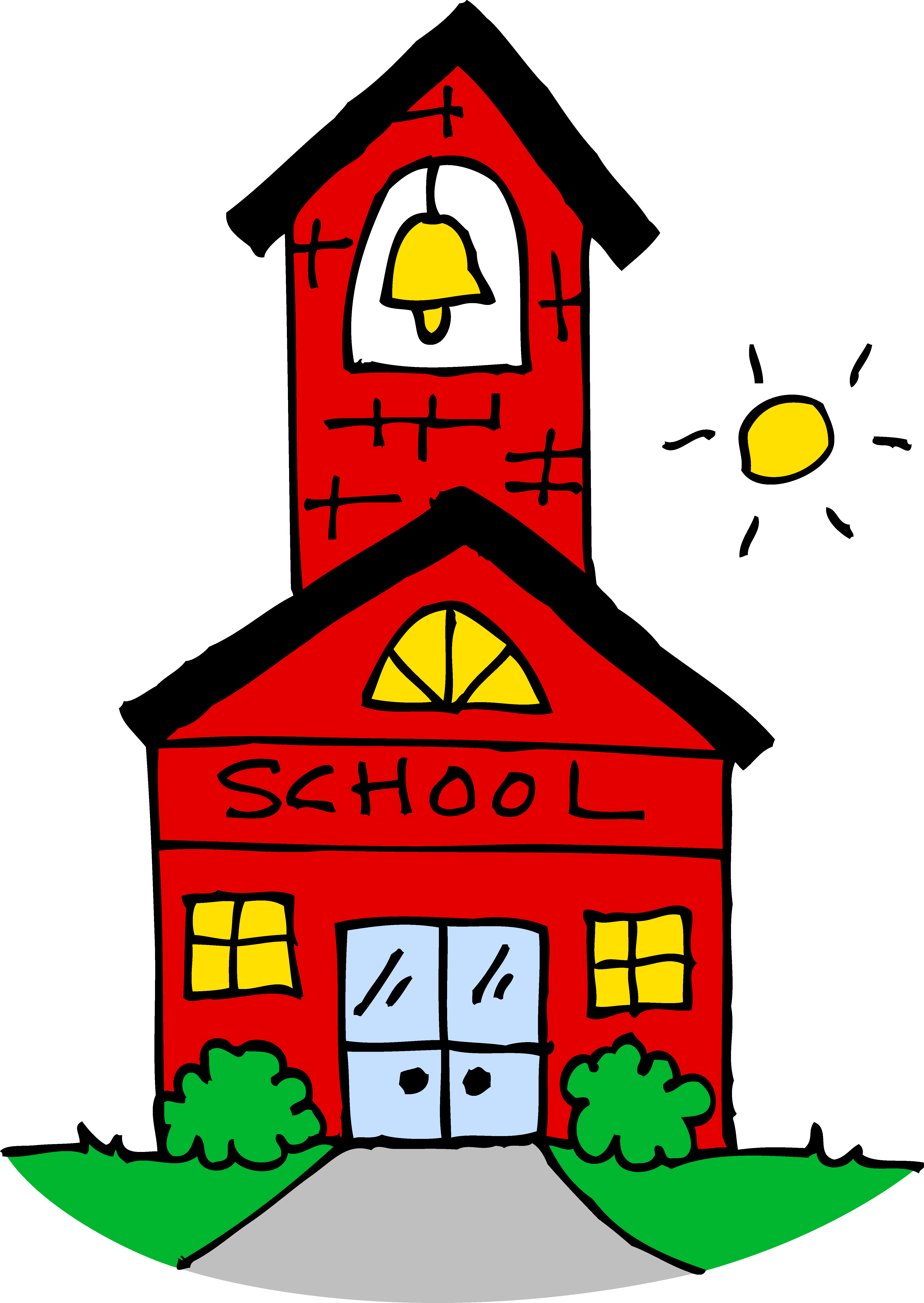 image library Last of clipart school clipart. House drawing at getdrawings.