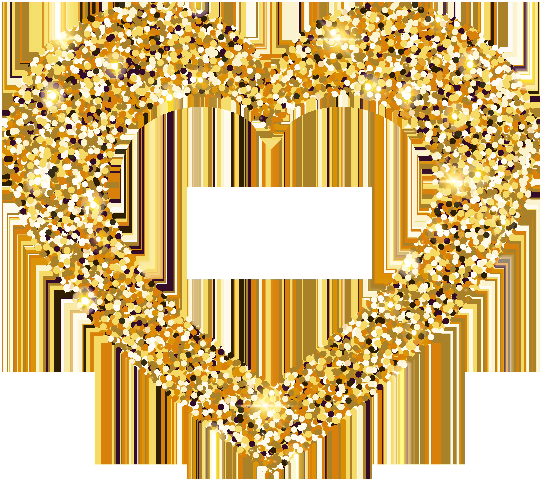 clipart library download Heart clip art gallery. Golden clipart transparent