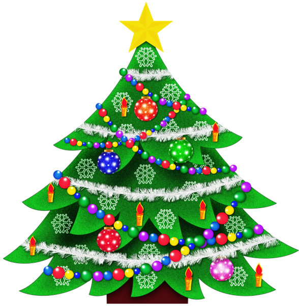 clip freeuse stock Transparent Christmas Tree Clipart Picture
