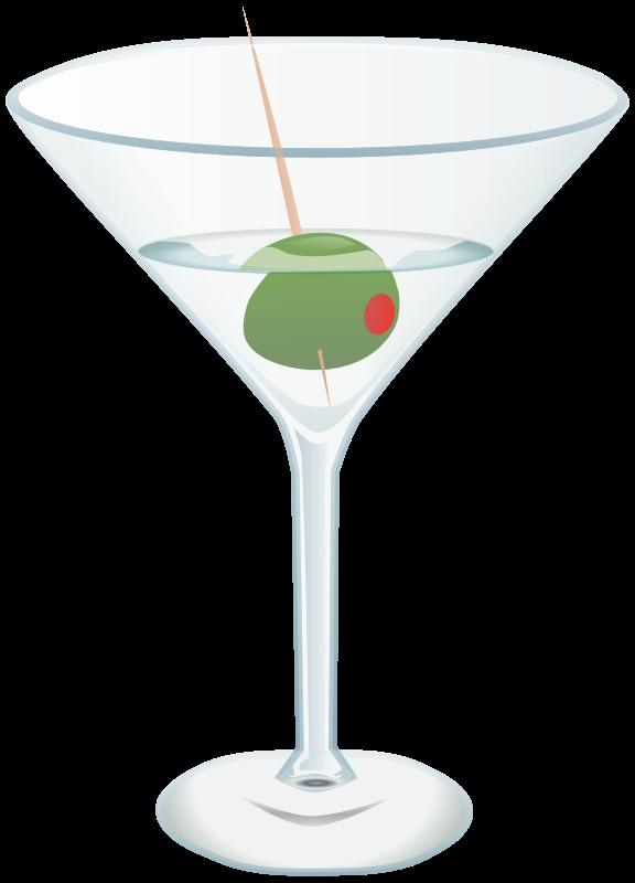 free stock Martini Clip Art Free